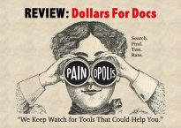 Review: Dollars for Docs. Search. Find. Test. Rate. Painopolis. We keep watch for tools that could help you.